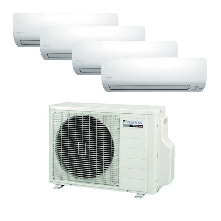 Aire acondicionado Multisplit 4x1 Inverter Daikin 4MXM68M + FTXM20M + FTXM20M +FTXM20M + FTXM35M (R32/WIFI INCLUIDO)